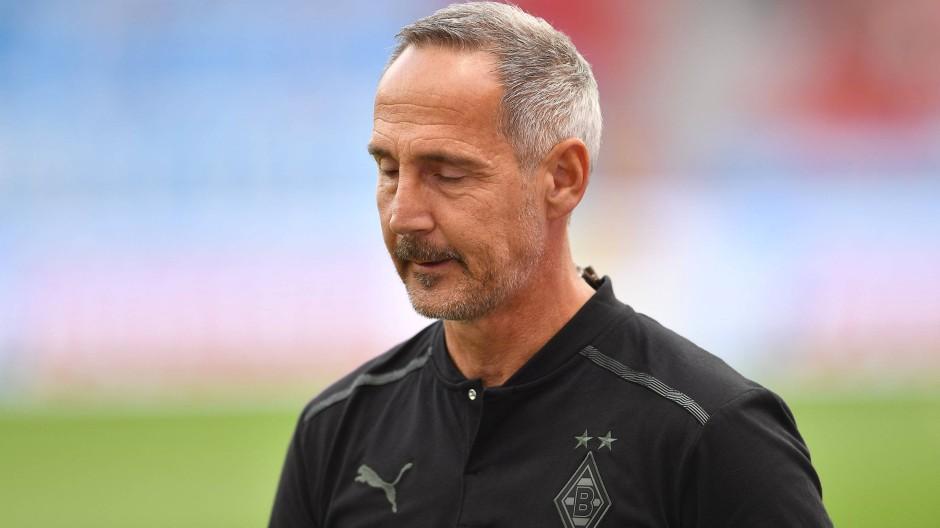 Wieder keine Punkte: Adi Hütter und die Borussia