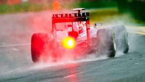Vettel sieht nur die Rücklichter