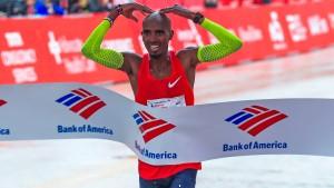Farah stellt neuen Marathon-Europarekord auf