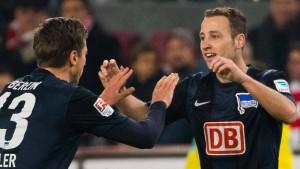 Wichtiger Auswärtssieg für Hertha