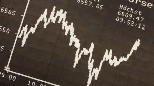 Dax-Konzerne freuen sich über 66 Prozent mehr Gewinn