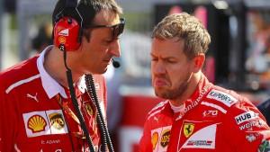 Ferrari muss die Nerven behalten