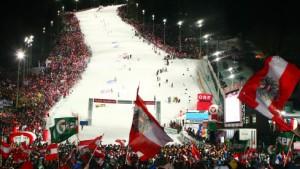 Nacht-Slalom mit Apres-Ski-Party
