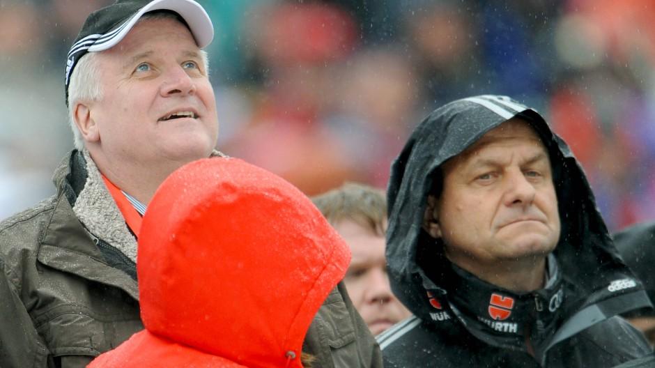 DOSB-Präsident Alfons Hörmann (rechts) möchte Horst Seehofer treffen (Bild von 2012).