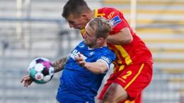 Paderborn verpasst Tabellenführung gegen KSC