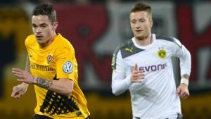 Dresden entschuldigt sich bei Reus und BVB