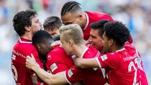 Die zweite Bundesliga spielt verrückt