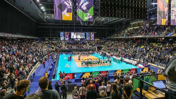 Die Deutschen und der Tempel des Volleyballs