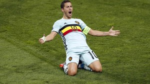 Belgien stürmt ins Halbfinale
