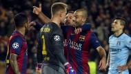 Barcelona bleibt Stammgast im Viertelfinale