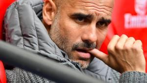 """""""Oh, mein Gott"""": Großer Ärger bei Guardiola"""
