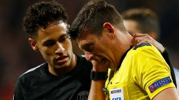Paris schimpft auf Schiedsrichter nach 1:3 in Madrid