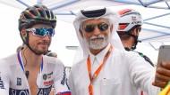 Selfie mit Sagan: Der Slowake gewinnt in Qatar das Straßenradrennen