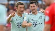 DFB-Pokal in Drochtersen: Die Bayern haben große Mühe