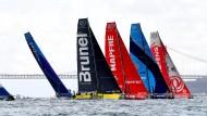 Von Lissabon aus geht es auf die zweite Etappe beim Ocean Race.