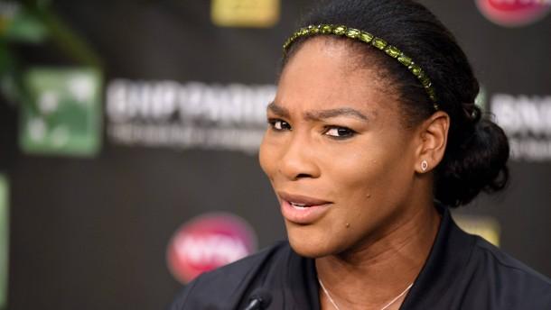 Serena Williams auf Versöhnungstour