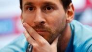 """""""Unverzeihlich"""": Lionel Messi leidet noch unter dem Aus des FC Barcelona in Liverpool."""