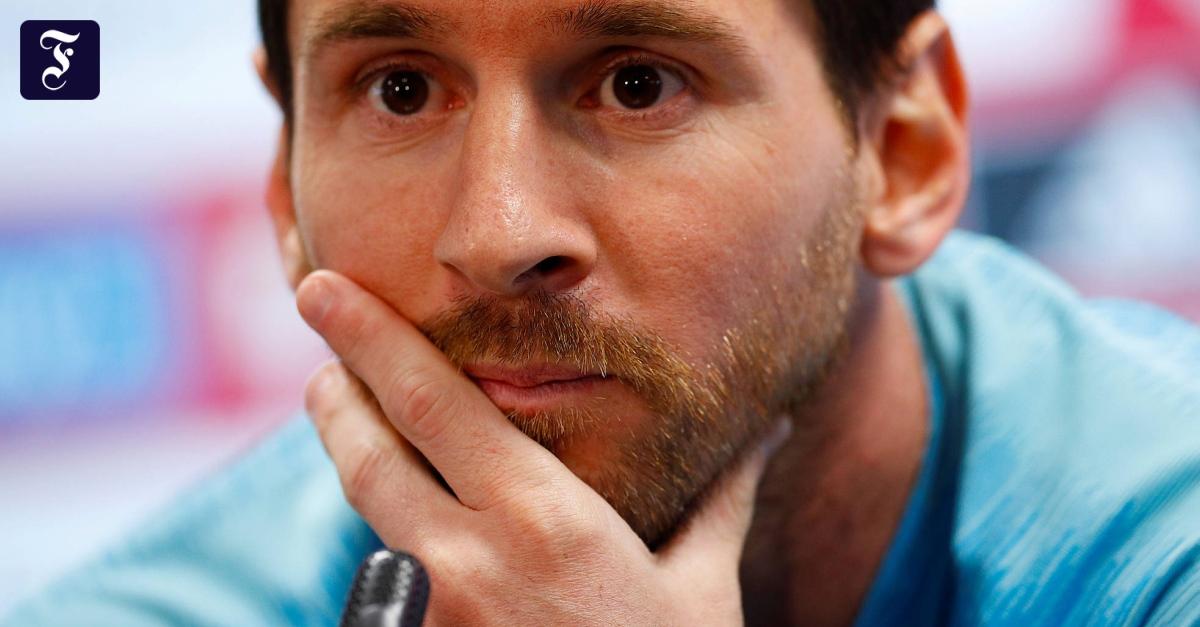 Erste PK von Barcelona-Star Lionel Messi nach vier Jahren