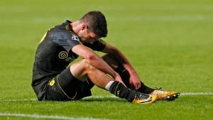 Ein schwarzer Abend für Borussia Dortmund
