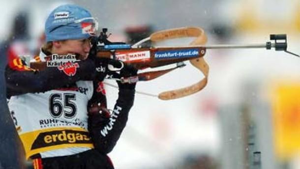 Martina Glagow Fünfte in Antholz