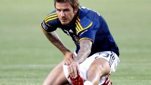 Beckham trainiert für Olympia