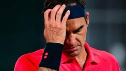 Federers Abgang nach Mitternacht