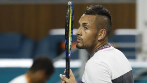 Tennisprofi Kyrgios legt sich mit Zuschauer an