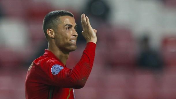 Ronaldo nähert sich dem Weltrekord