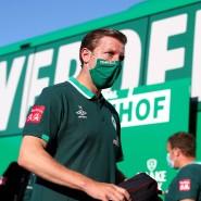 Weiter in Grün-Weiß: Florian Kohfeldt bleibt Trainer von Werder Bremen.