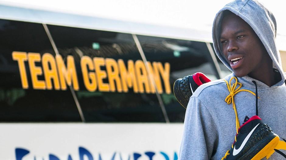 NBA-Star Dennis Schröder: Anführer der deutschen Basketball-Nationalmannschaft bei der EM 2021