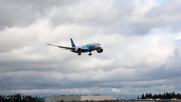 Zurück in der Luft: Der Dreamliner darf zu Testzwecken wieder abheben