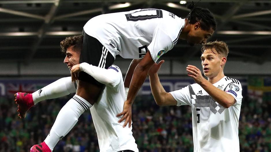 Wer bringt Struktur rein? Die Nationalmannschaft mit Kai Havertz, Serge Gnabry und Joshua Kimmich ist auf der Suche nach der eigenen Identität.