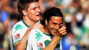 Bremen und Leverkusen Sieger des Sonntags