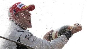Vettels WM-Chance vergeht bei Barrichellos Sieg