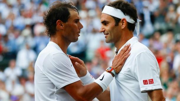 Federer und Nadal kämpfen für Solidarität