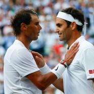 Gegner auf dem Platz, vereint im Kampf um die Rechte der Außenseiter: Roger Federer (rechts) und Rafalel Nadal.