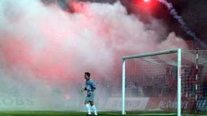 Cottbus will Bombe im Stadion zünden