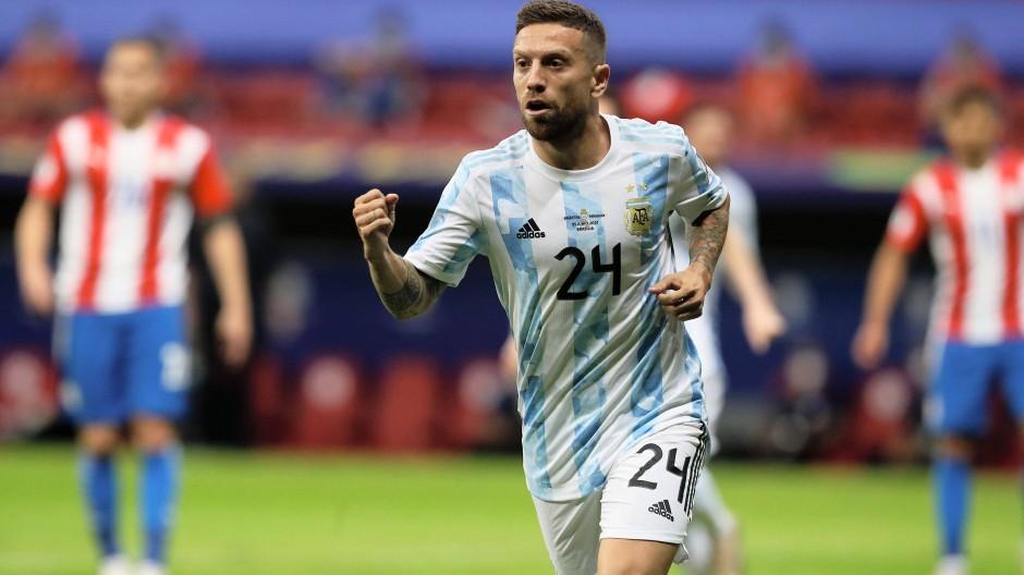Torschütze für Argentinien: Alejandro Gomez