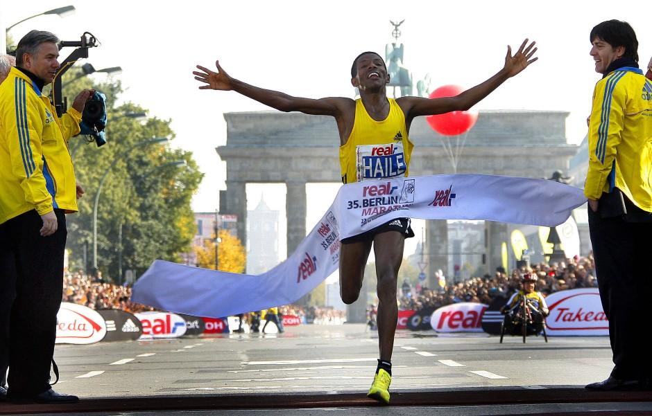 Premium-Ereignis Berlin-Marathon.