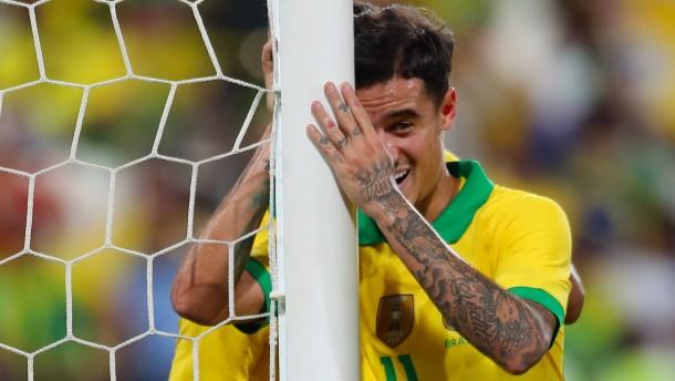 """Coutinho glänzt"""