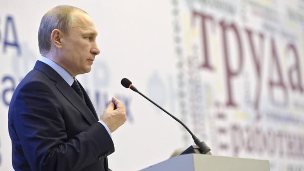 Putin: Russland will keinen Krieg