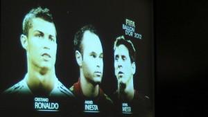 Messi, Ronaldo oder Iniesta?