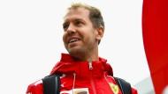 """Sebastian Vettel über schlechte Rennen und Resultate: """"Wir lassen uns davon nicht unterkriegen"""""""