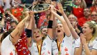 Dresdnerinnen drehen das Match