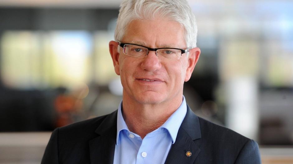 Mann mit sportpolitischen Ambitionen: Franz Reindl ist erfolgreicher Eishockey-Funktionär.