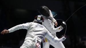 Deutsche Florettfechter verpassen das Viertelfinale
