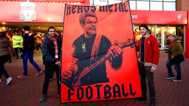 Klopp total in Liverpool