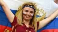 Die russischen Fans freuen sich auf die WM im eigenen Land – aber wohl nicht so sehr auf die Argentinier.