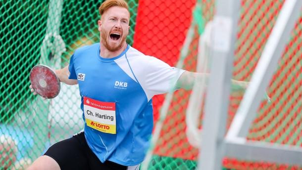 Christoph Harting gewinnt Bruder-Duell