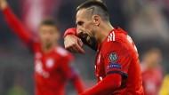 In Erklärungsnot: Bayerns Franck Ribéry soll nach dem Spiel beim BVB einen TV-Experten angegangen haben.